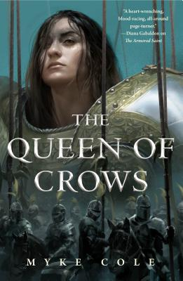 The Queen of Crows (The Sacred Throne #2) Cover Image