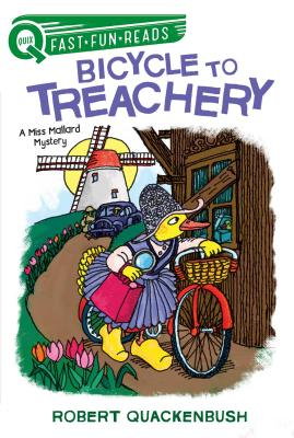 Bicycle to Treachery: A Miss Mallard Mystery (QUIX) Cover Image