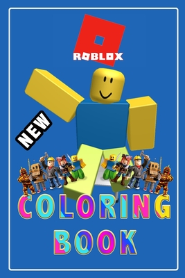 Roblox Coloring Book: Roblox +50 Coloring pages, learn how to draw Roblox Characters step by step, Cute Gift for kids, for girls, for Teens Cover Image