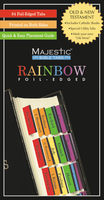 Majestic Rainbow Bible Tabs Cover Image