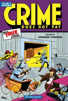 Crime Does Not Pay, Volume 3 Cover