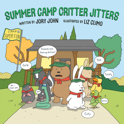 Summer Camp Critter Jitters Cover Image
