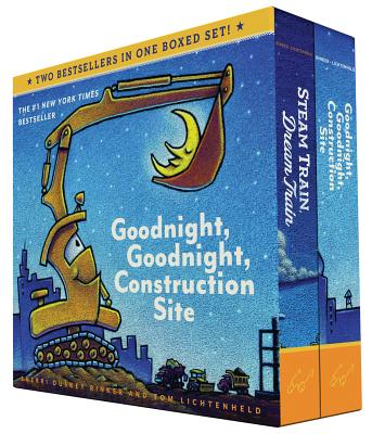 Goodnight, Goodnight, Construction Site and Steam Train, Dream Train Set Cover