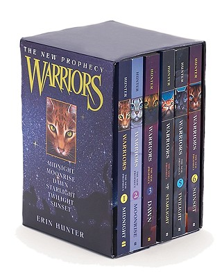 Warriors: The New Prophecy Box Set: Volumes 1 to 6 Cover Image