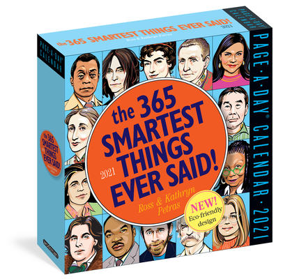 365 Smartest Things Ever Said! Page-A-Day Calendar 2021 Cover Image