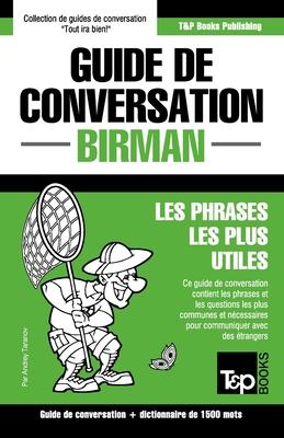 Guide de conversation - Birman - Les phrases les plus utiles: Guide de conversation et dictionnaire de 1500 mots (French Collection #71) Cover Image