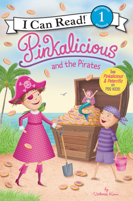 Pinkalicious and the Pirates (I Can Read Level 1) Cover Image