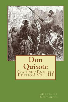 Don Quixote: Spanish/English Edition Vol. III Cover Image