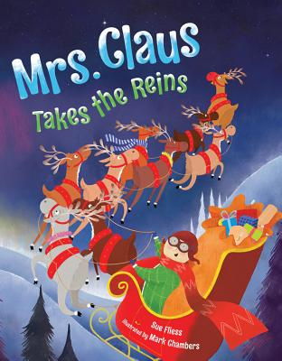 Mrs. Claus Takes the Reins Cover Image