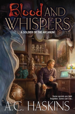 Cover for Blood and Whispers