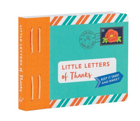 Little Letters of Thanks: (Thankful Gifts, Personalized Thank You Cards, Thank You Notes) Cover Image