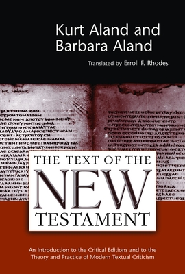 Cover for Text of the New Testament