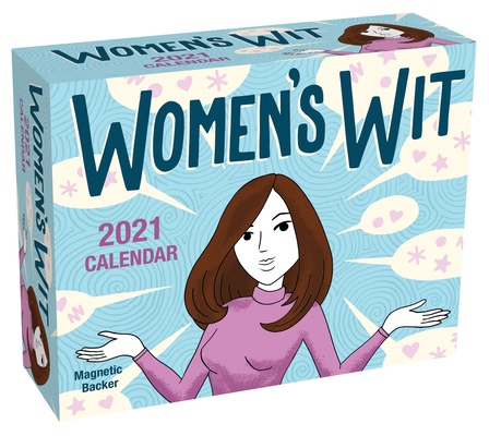 Women's Wit 2021 Mini Day-to-Day Calendar Cover Image