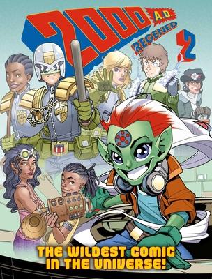 2000 AD Regened Volume 2 Cover Image