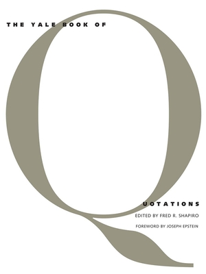 The Yale Book of Quotations Cover