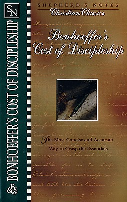 Bonhoeffer's the Cost of Discipleship Cover