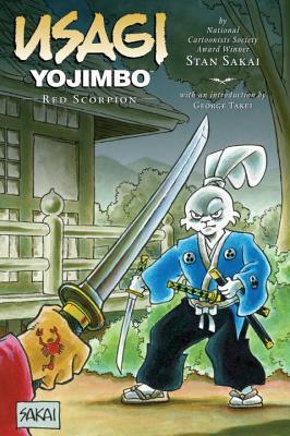 Usagi Yojimbo, Volume 28: Red Scorpion Cover Image