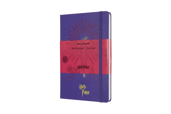 Moleskine Limited Edition Notebook Harry Potter, Book 5, Large, Ruled,  Brilliant Violet (5 x 8.25) Cover Image