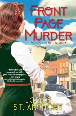 Cover for Front Page Murder (A Homefront News Mystery)