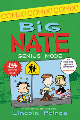 Big Nate: Genius Mode (Big Nate Comix #3) Cover Image