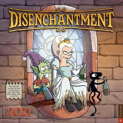 Disenchantment 2021 Wall Calendar Cover Image
