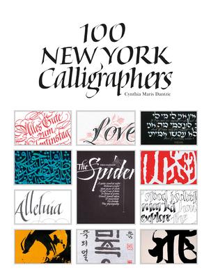 100 New York Calligraphers Hardcover Content Bookstore