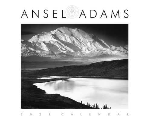 Ansel Adams 2021 Wall Calendar Cover Image