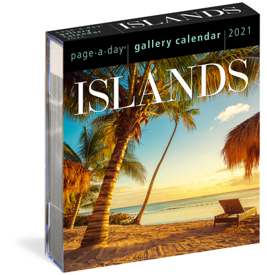 Islands Page-A-Day Gallery Calendar 2021 Cover Image