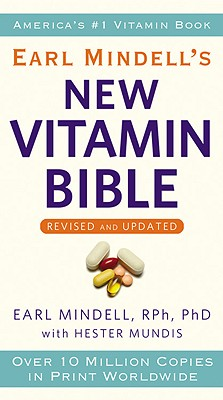 Earl Mindell's New Vitamin Bible Cover Image