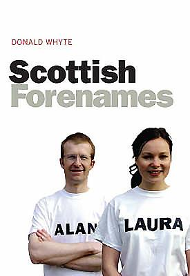 Scottish Forenames Cover Image