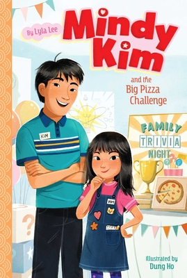 Mindy Kim and the Big Pizza Challenge Cover Image