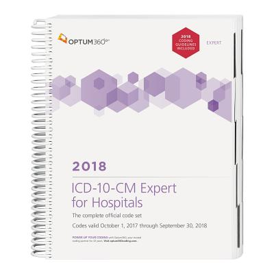ICD-10-CM Expert for Hospitals 2018 (Spiral) Cover Image