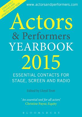 Actors and Performers Yearbook 2015 Cover Image