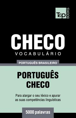 Vocabulário Português Brasileiro-Checo - 5000 palavras Cover Image