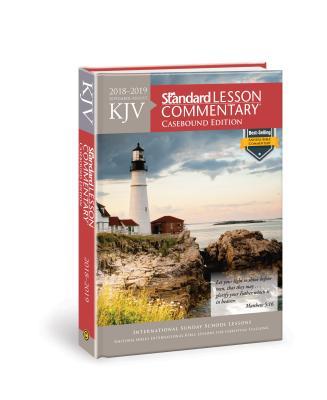 KJV Standard Lesson Commentary® Casebound Edition 2018-2019 Cover Image