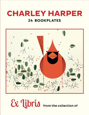 Charley Harper: Cardinal Bookplates Cover Image