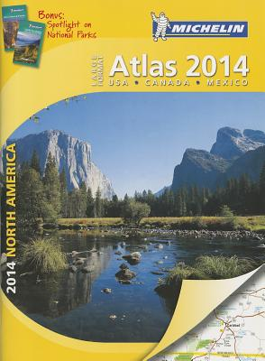 Michelin North America Large Format Atlas 2014 Cover