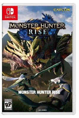 Monster Hunter Rise Cover Image