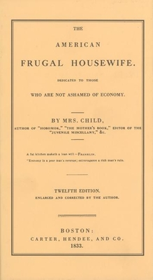 Cover for American Frugal Housewife