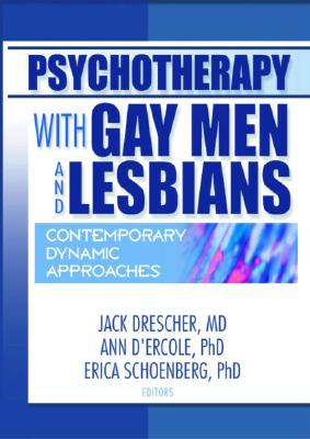 Psychotherapy with Gay Men and Lesbians Cover Image