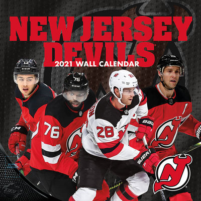 New Jersey Devils 2021 12x12 Team Wall Calendar Cover Image
