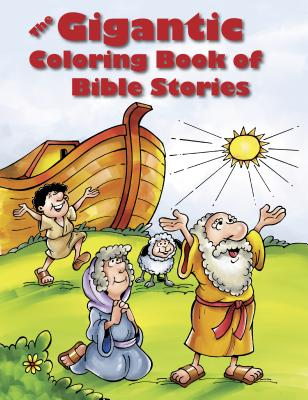 The Gigantic Coloring Book of Bible Stories Cover Image