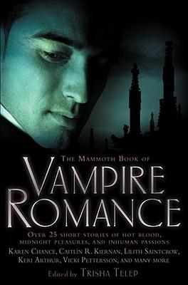 The Mammoth Book of Vampire Romance Cover