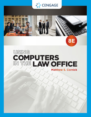 Using Computers in the Law Office Cover Image