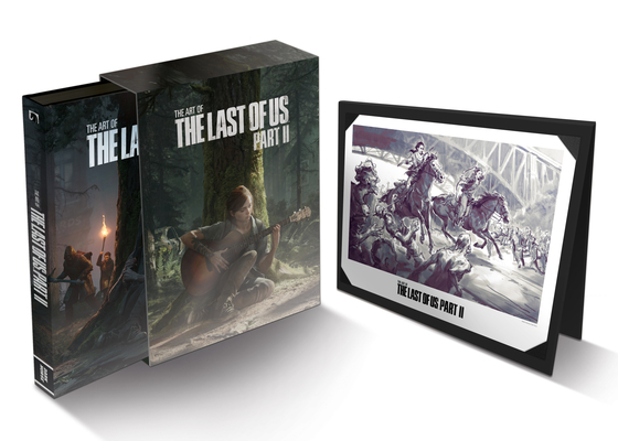 The Art of the Last of Us Part II Deluxe Edition Cover Image