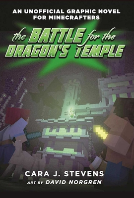 The Battle for the Dragon's Temple: An Unofficial Graphic Novel for Minecrafters, #4 Cover Image