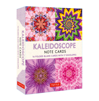 Kaleidoscope, 16 Note Cards: 16 Different Blank Cards with 17 Patterned Envelopes Cover Image