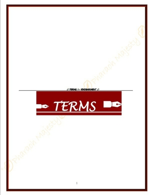Terms for Endearment: Adult Coloring & Activities/Fetish Exploration Contract Cover Image