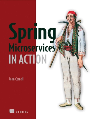 Spring Microservices in Action Cover Image