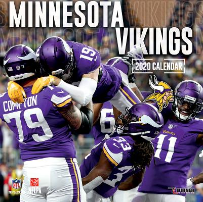 Minnesota Vikings: 2020 12x12 Team Wall Calendar Cover Image